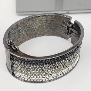 Lia Sophia Rhinestone Hinge Bracelet